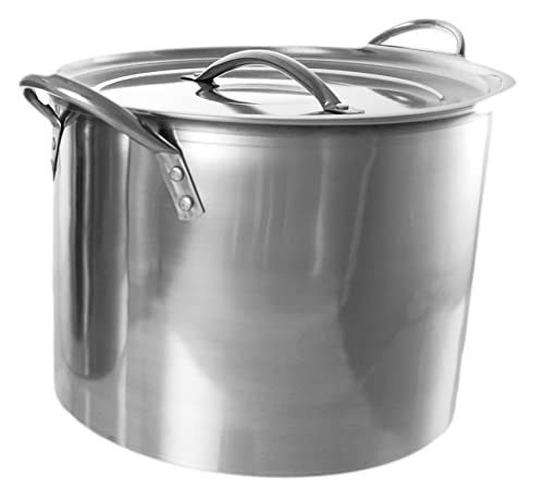 xxl jumbo cooking pot stockpot stainless steel 20 litres boiling pan saucepan. Black Bedroom Furniture Sets. Home Design Ideas