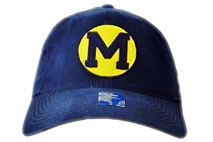 a2ea43c15e5 Image Unavailable. Image not available for. Color  Michigan Wolverines  adidas Navy Flex Hat ...