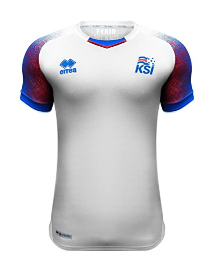 75221b4c3 Amazon.com : Errea Iceland Away Soccer Men's Jersey World Cup Russia ...