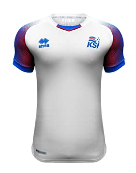 6a3ab588e Errea Iceland Away Soccer Men s Jersey World Cup Russia 2018 ...