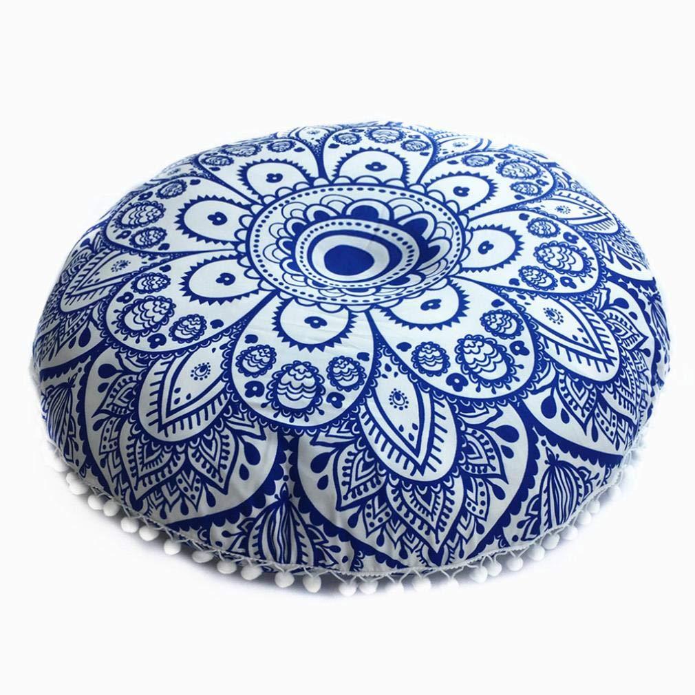 43*43cm 43/x 43/cm a neuestes Design Indische Mandala Kissen Runde Bohemian Home Kissen Kissen Cover Case Kissen Winkey Baumwollleinen