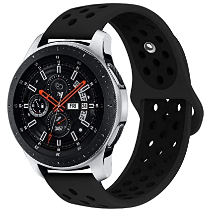 KADES Galaxy Watch 46mm Bands, Gear S3 Bands, 22mm Universal Replacement Strap with Quick Release Pin Compatible for TicWatch Pro, Amazfit Stratos ...