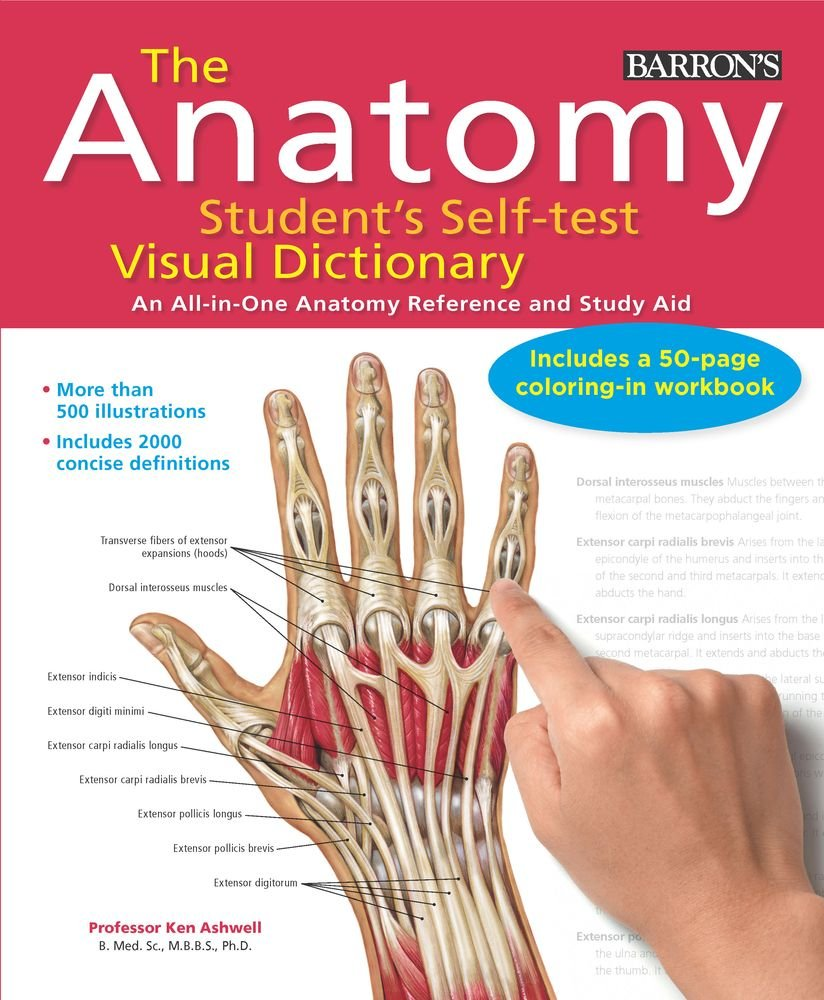The Anatomy Student\'s Self-Test Visual Dictionary: An All-in-One ...