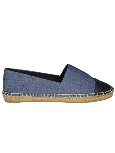 e47747822e4 Tory Burch Color-Block Denim Espadrille