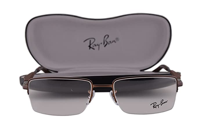67c7c6a9970 Image Unavailable. Image not available for. Colour  Ray-Ban RX6285  Eyeglasses 53-18-140 Dark Matte Brown 2758 ...