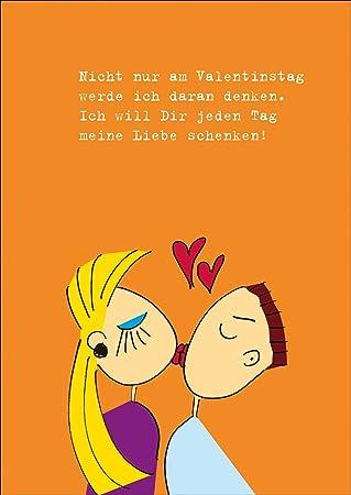 Kuss Grusskarte Fur Verliebte Denn Nicht Nur Am Valentinstag Sondern