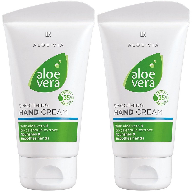 LR ALOE VIA Aloe Vera Sanfte Handcreme (2x 75 ml) 20117