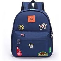 Willikiva Kids Children insignia Bags for Toddler Backpack for Kindergarten or Prescool Girls Boys