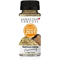 Sabatino Tartufi Truffle Zest Seasoning, Truffle & Cheese, The Original All Natural Gourmet Truffle Powder, Vegetarian…