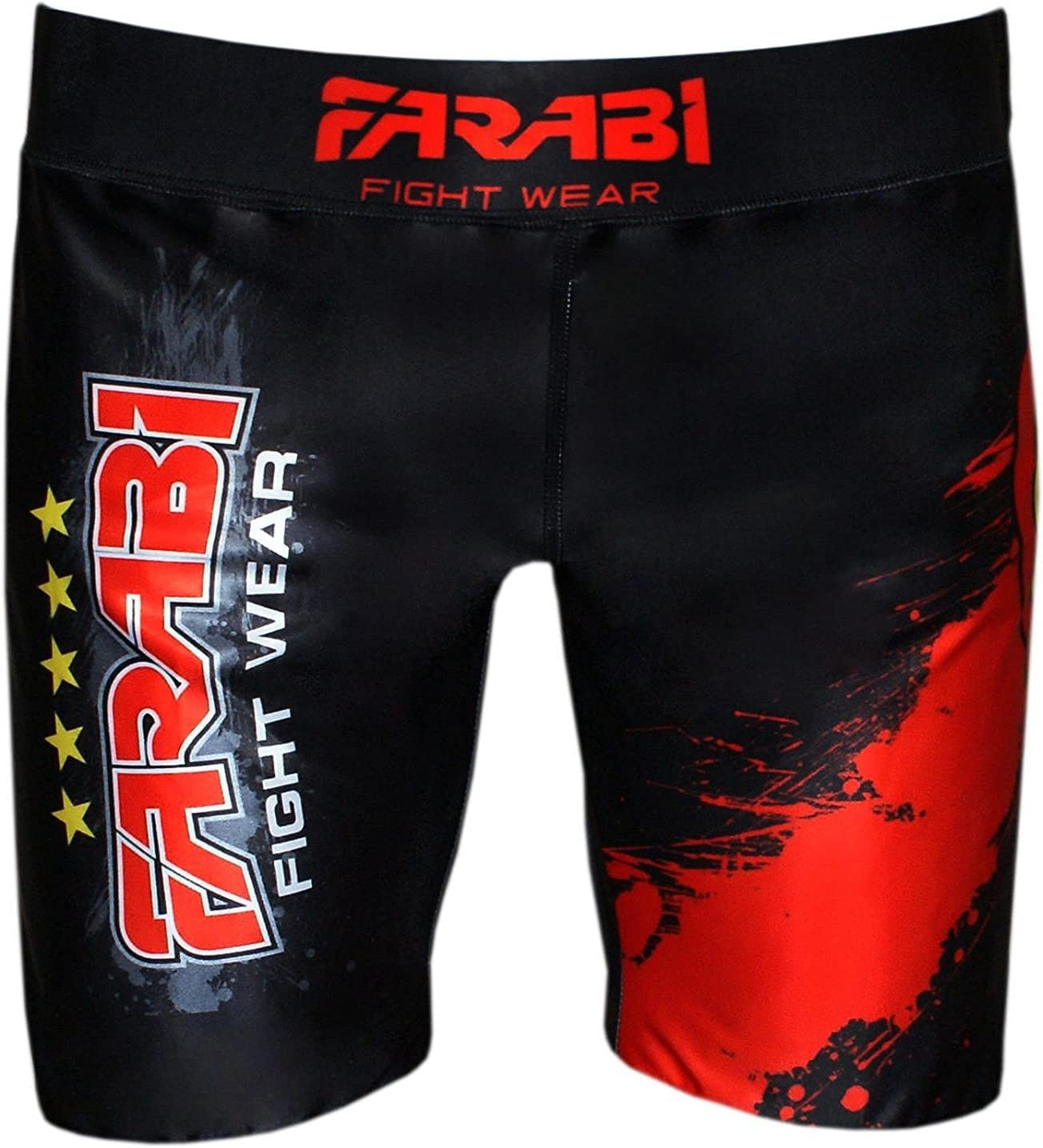 XL MMA vale tudo short grappling fight training match compression tight by farabi