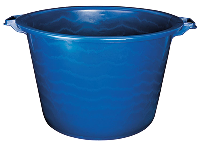 Aluminium et Plastique Blu in plastica Bacinella Rotonda con Manici 45 l