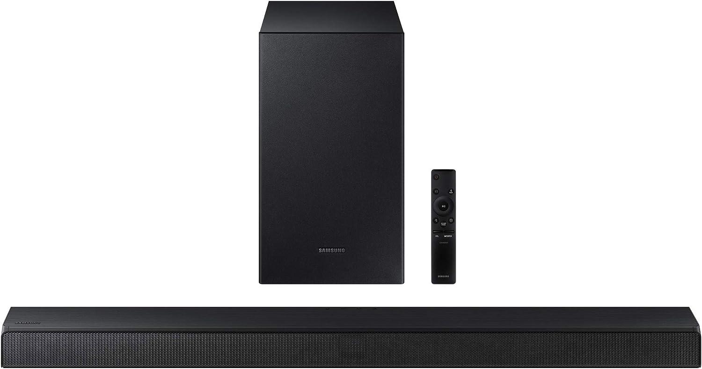 SAMSUNG HW-T550 Soundbar with Dolby Audio, 3D Surround Sound (HW-T550/ZA)