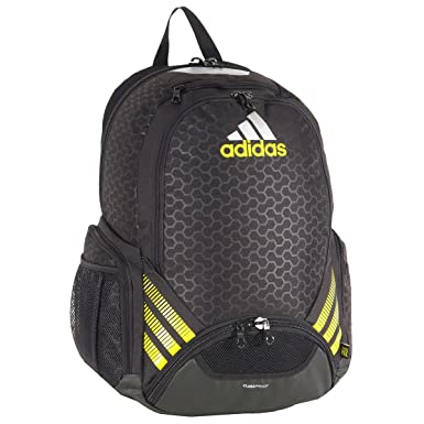 38c1940e9 Amazon.com : adidas Team Speed Backpack, Black, One Size Fits All : Basic  Multipurpose Backpacks : Clothing