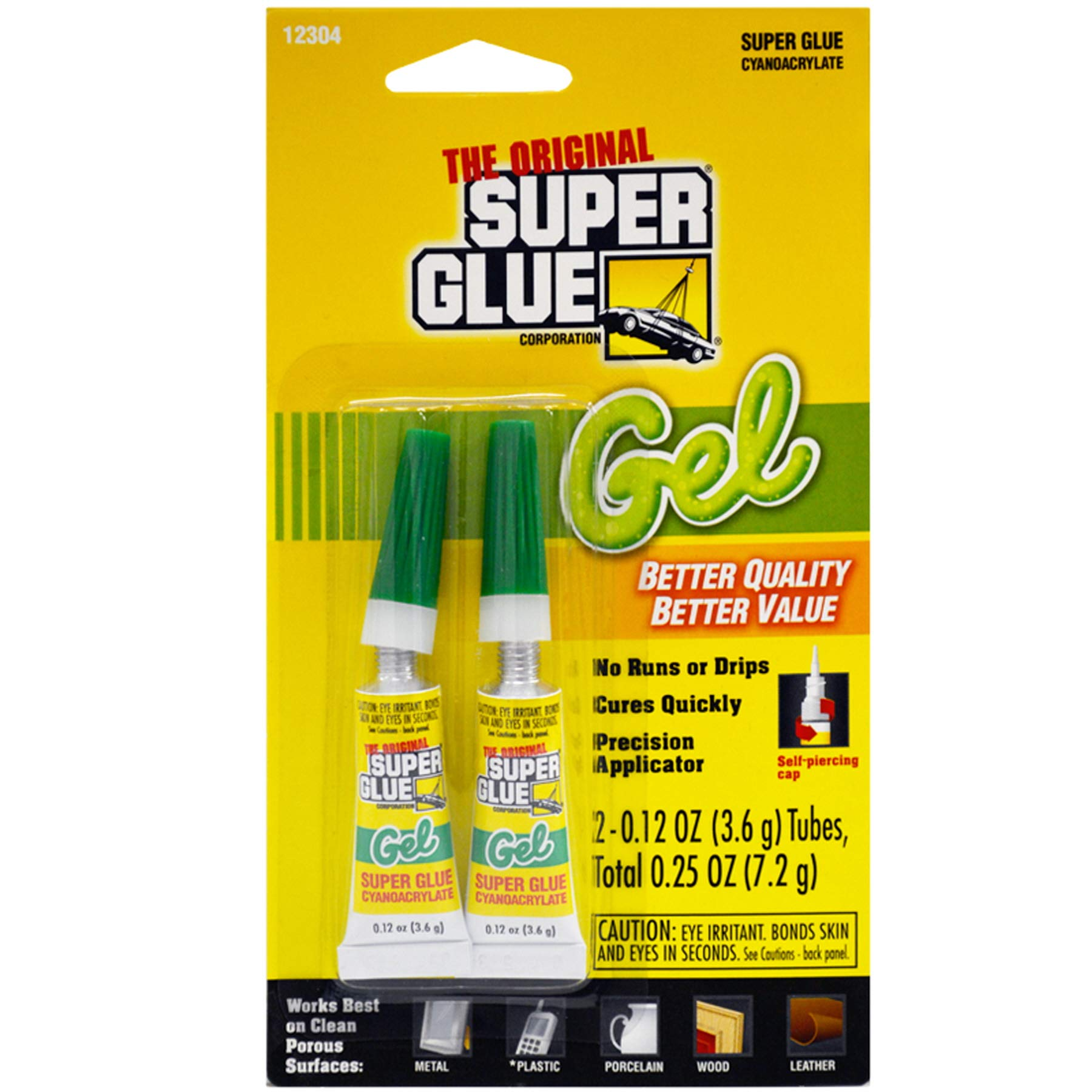 (Pack of 24) Pacer The Original Super Glue Super Glue Thick Gel, 2-Pack 2Gm by Unknown (Image #1)