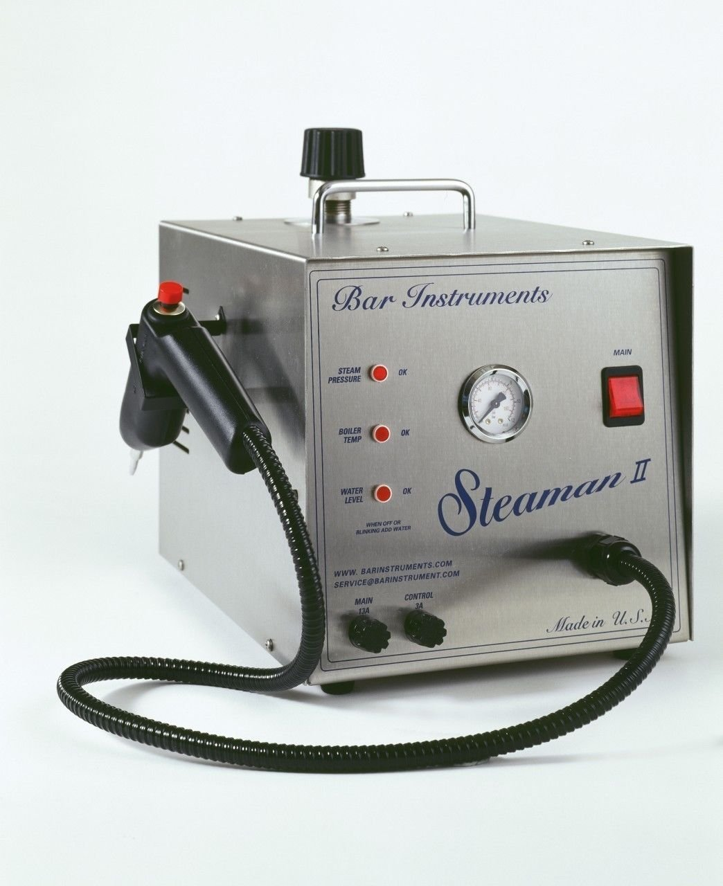 Bar Steaman II Steam Cleaner 1/2 Gallon, Dental Jewelry Made In USA NEW