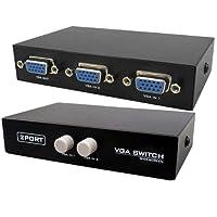 CLASSYTEK 2 Port Manual VGA Splitter