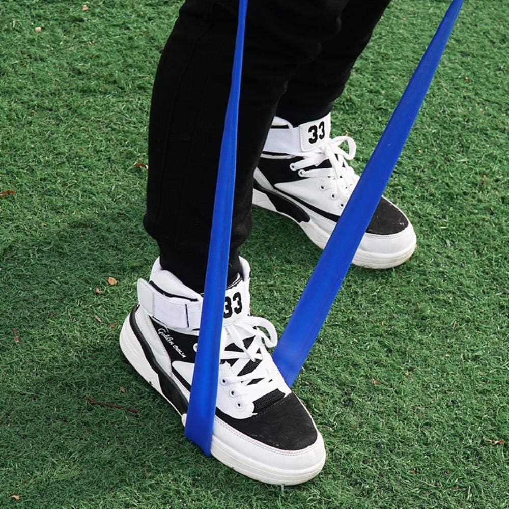 HSC Track and Field Running corda elastica spessa in gomma 5 m. Fascia di resistenza per allenamento di forza