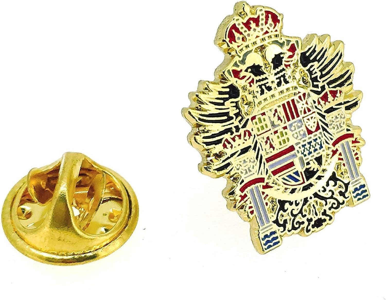 Gemelolandia Pin de Solapa Escudo de Armas de Carlos V: Amazon.es: Ropa y accesorios