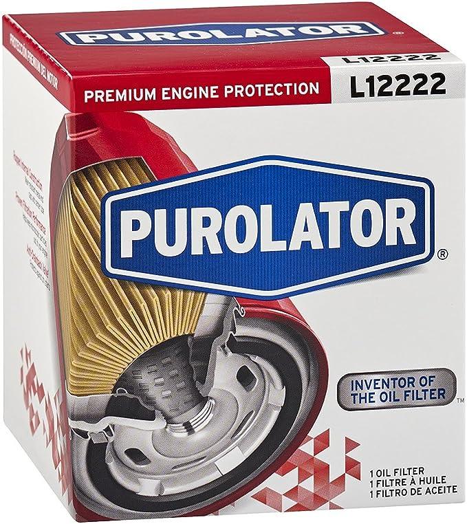 Purolator L12222 Premium Motorschutz Spin On Ölfilter Rot Auto