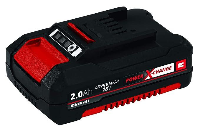 Einhell 4511395 Batería de Repuesto de 2, 18 V, Negro, Rojo, 2.0 ...