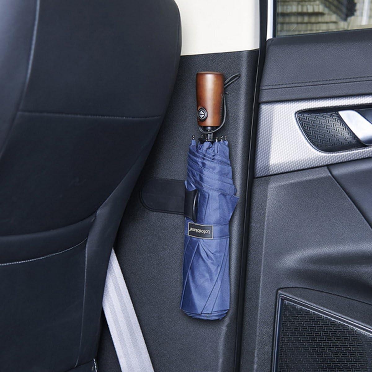 VORCOOL 2/Pcs Auto Kofferraum Haken Kleiderb/ügel Klebstoffe Regenschirm f/ür Auto Auto Startseite Schwarz