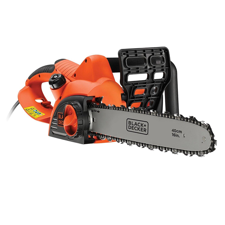 BLACK+DECKER CS2040-GB Chainsaw Corded, 2000 W, 40 cm Black + Decker