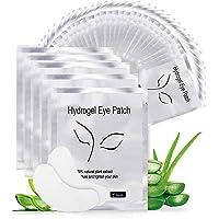 Eye Gel Pads, Aikvigss 50 Pairs Wimperpleisters Under Eye Gel Pads Eye Gel Patches kit, Lint Free Under Eye Gel Patches…