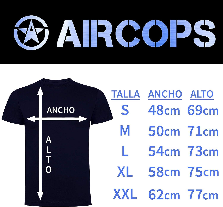 Aircops Camiseta Policia Nacional Hombre: Amazon.es: Ropa y accesorios