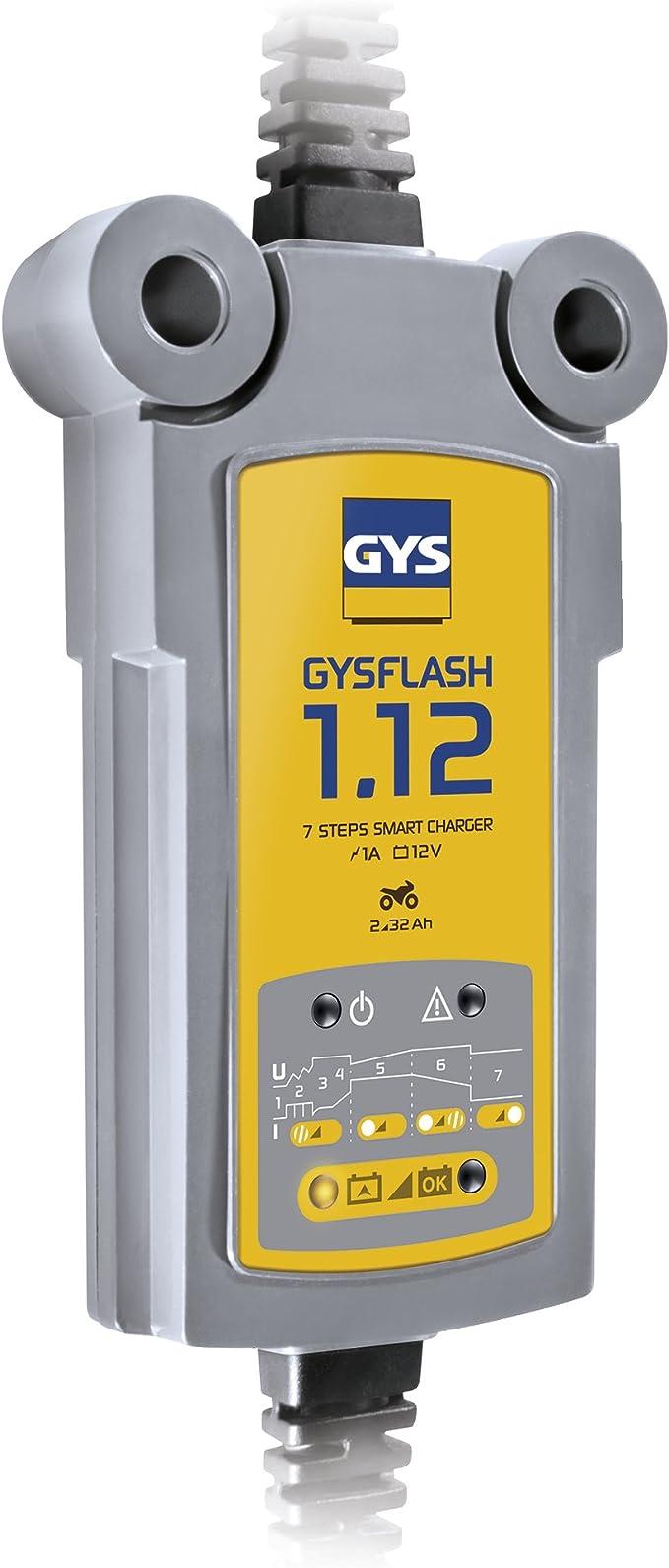 Gys 029361 Batterieladegerät Gysflash 1 12 Auto