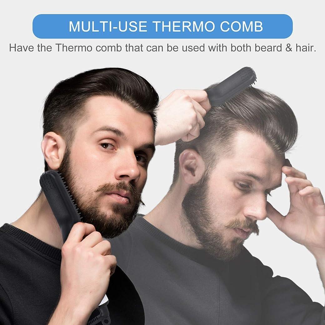 Nivlan Cepillo Alisador de Barba Multifuncional