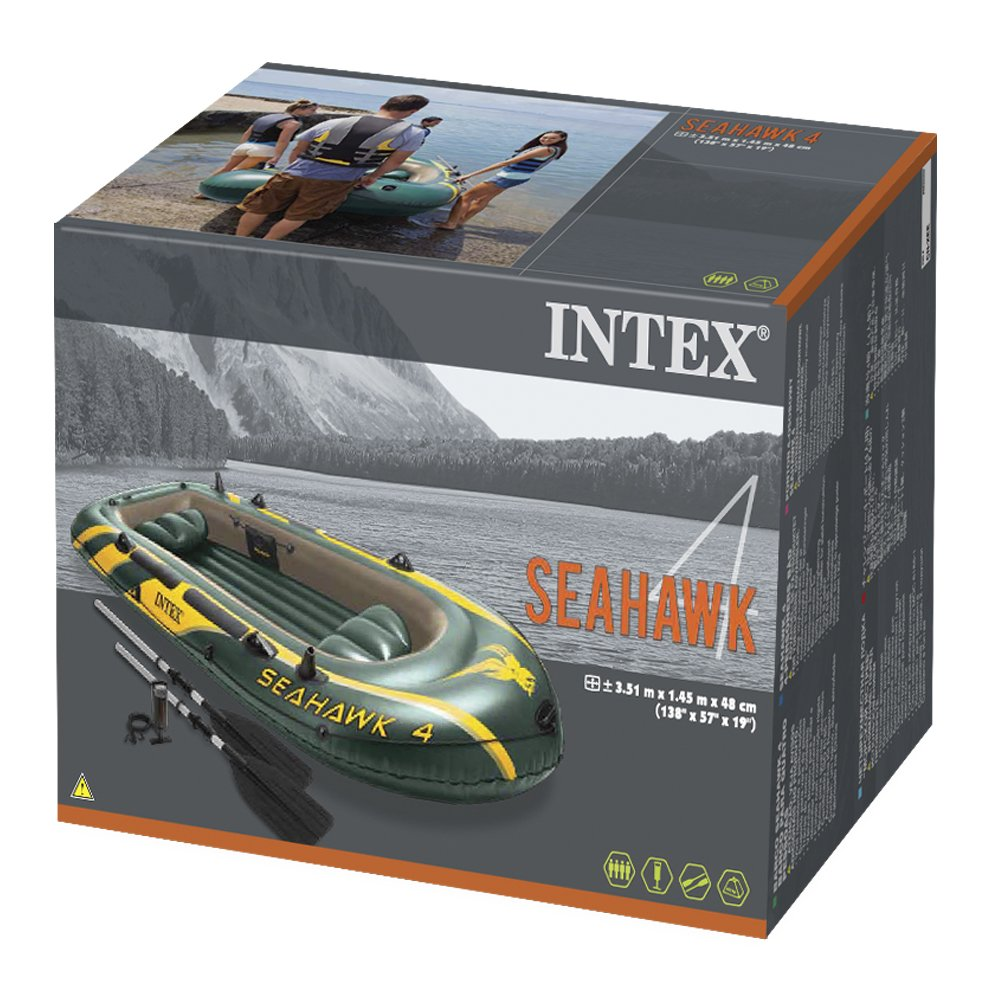Barco inchable Intex Seahawk 4 por sólo 117,12€