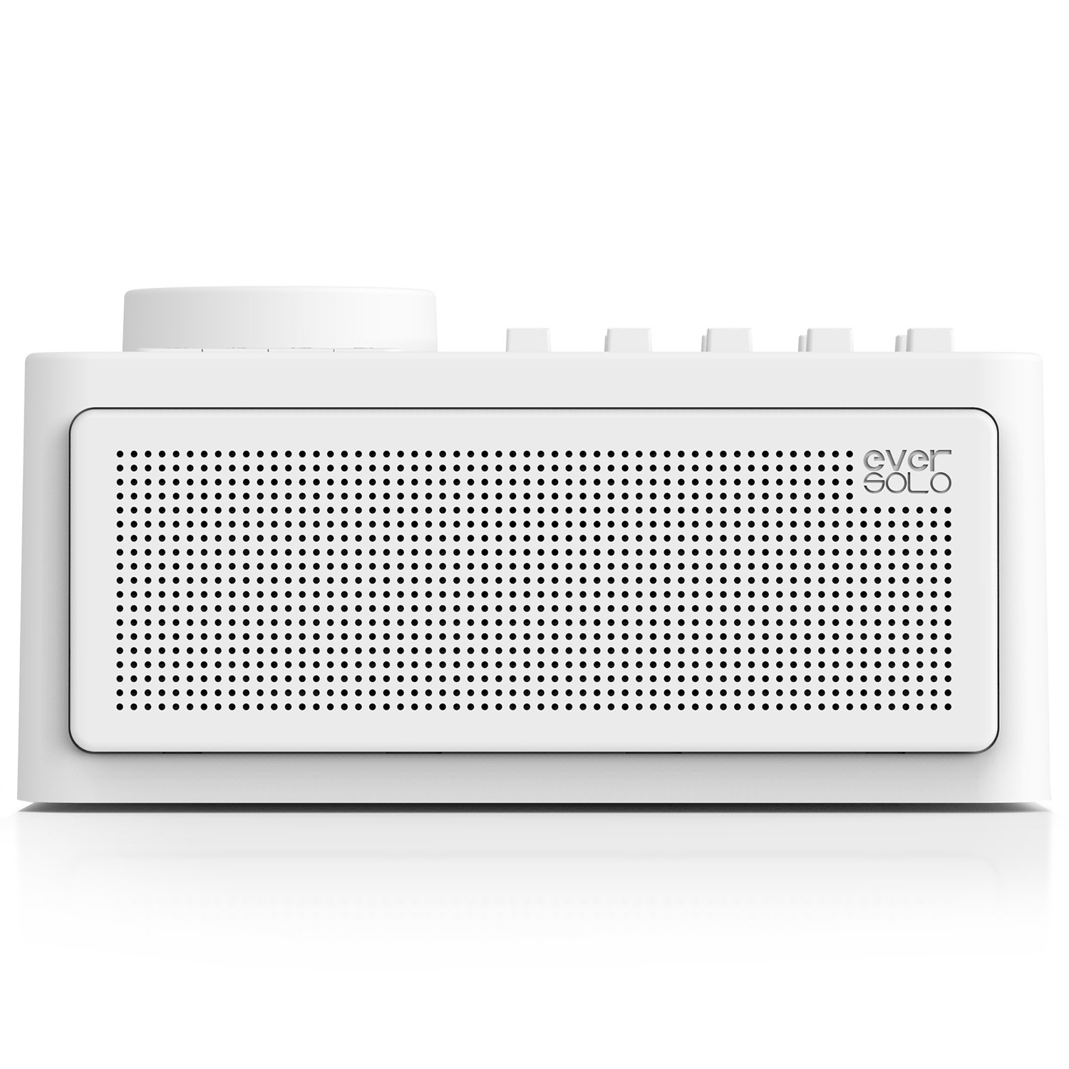 Zidoo Eversolo Sleep Therapy Sound Machine - All Natural White Noise for Sleep Include Wind, Rain, Stream, Ocean - Ten White Noises Support Mix- Wireless Speaker