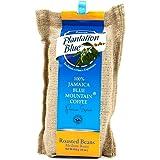 Jamaican Blue Mountain Coffee Beans - 100% Fresh Plantation Blue Mountain Coffee, Medium Roasted Whole Beans - 16 ounces (1lb
