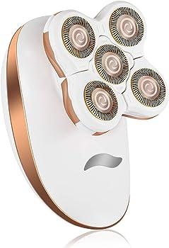 Bangbreak Women's USB-Rechargeable/Waterproof Body Hair Remover