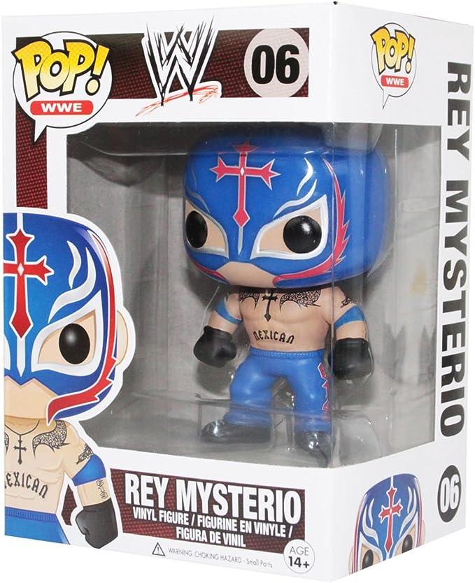 Funko Pop! WWE Rey Mysterio Vinyl Figure: Amazon.es: Juguetes y juegos