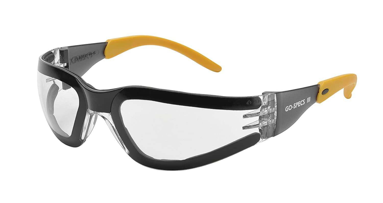 Wraparound ELVEX GG-15C-AF Elvex Clear Safety Glasses Anti-Fog