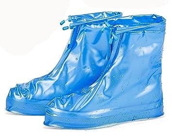 Eagsouni® Zapatos Cubiertas Impermeable Lluvia de Zapatos Botas Protectores Antideslizante Resistente al Desgaste para Mujere