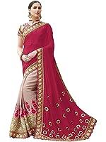 SareeShop Georgette Saree With Blouse(Shiv24-Svp)