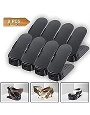 Elepawl Range Chaussures Réglables - Rangement Chaussures en Plastique - pour Organiser et optimiser l'Espace dans Votre Armoire