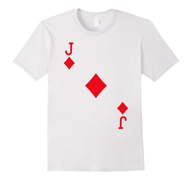 548b9575c Jack of Diamonds Costume T-Shirt Halloween Deck of Cards-TJ – theteejob