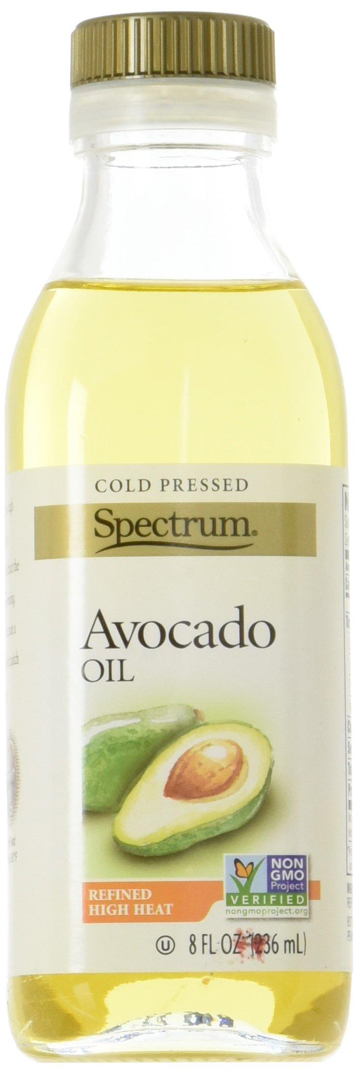 Spectrum Avocado Oil, Refined, 8 Ounce