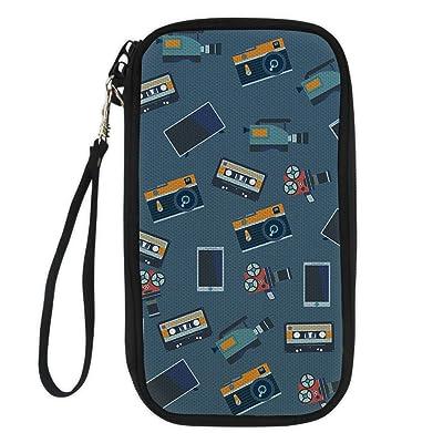 CHAQLIN Adjustable Shoulder Straps Passport Holder Cover Travel Pouch Travel Wallet