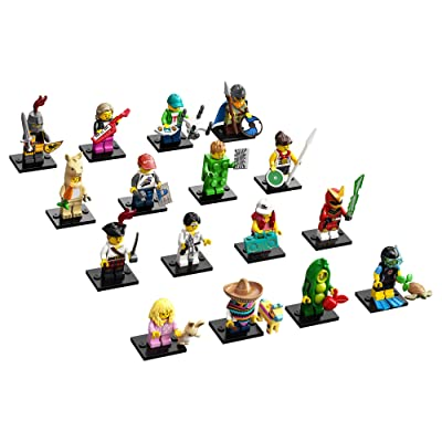 LEGO Minifigures Series 20 (71027) Building Kit (1 of 16 to Collect), featuring Characters to Collect and Add to Existing Sets; These Highly Collectible Toys Make Great Little Gifts for Kids, New 2020: Toys & Games