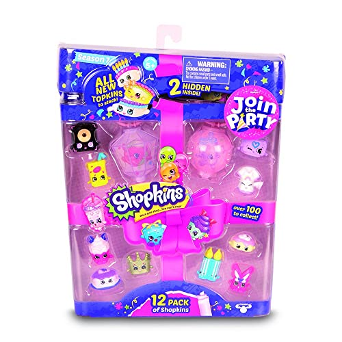 Shopkins Series 7 Playset Pack Of 12
