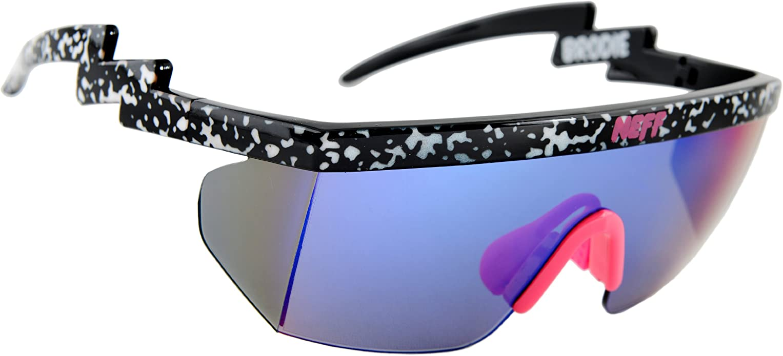 80s Wrap Around Sport Sunglasses by Neff Brodie