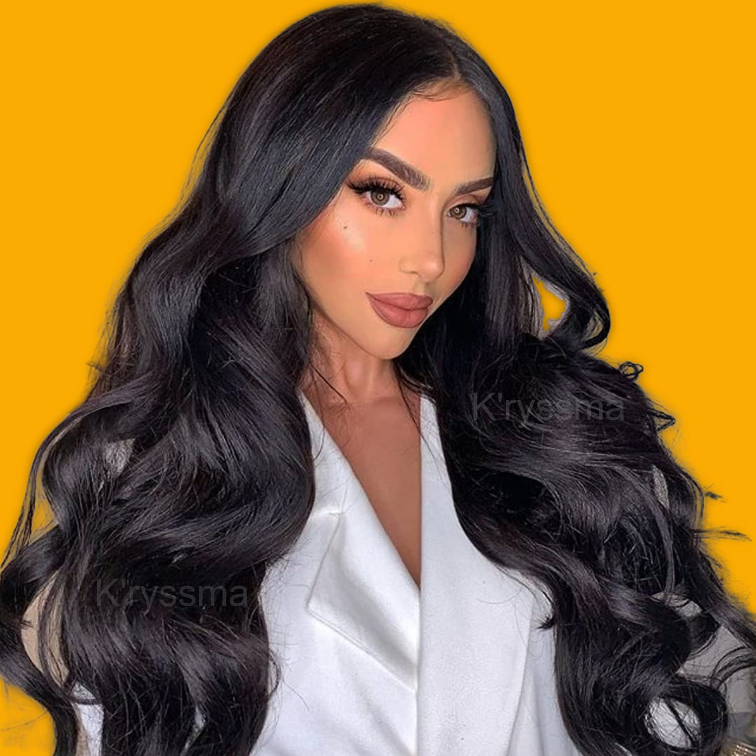 Lace Seattle Mall Front Wigs for Now free shipping Women Long Black Wavy Glueless Synthetic Wig