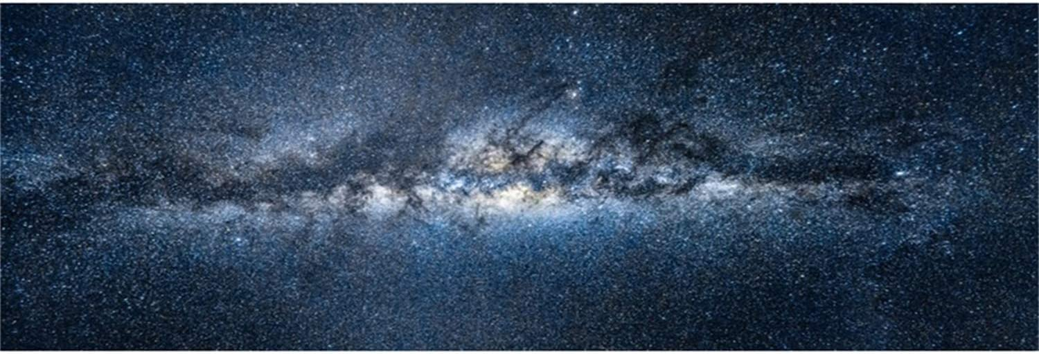 Grunge Nebula Star Field Galaxy 10x6.5ft Polyester Photography Background Mysterious Infinite Universe Outer Space Backdrop Child Baby Adult Portrait Wedding Shoot Birthday Party Banner Wallpaper