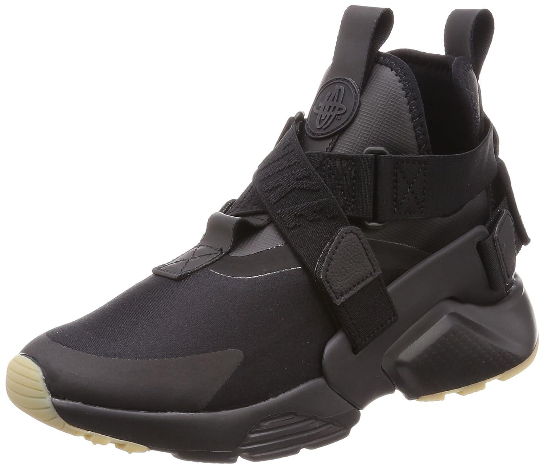 Nike Air Huarache City, Zapatillas para Mujer 36.5 EU|Negro (Black/Dark Grey-gum Light Brown 003)