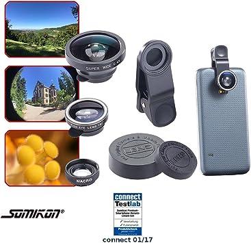 Somikon vorsatz Lentes: Premium de smartphone accesorio de lentes ...