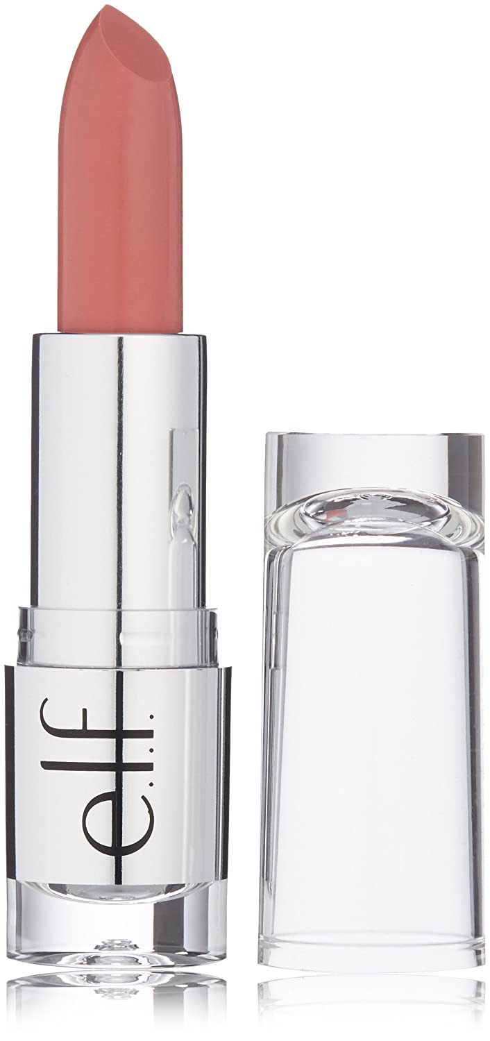 e.l.f. Cosmetics Beautifully Bare Lipstick, Provides Beautifully Sheer Color and Luminous Shine, Touch of Pink